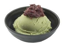 ไอศครีม ชาเขียว ถั่วแดงเย็น